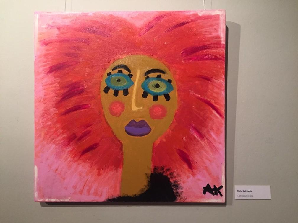 Obras fazem parte da exposição 'Fêmeas' em Petrópolis, no RJ — Foto: Aline Rickly / G1