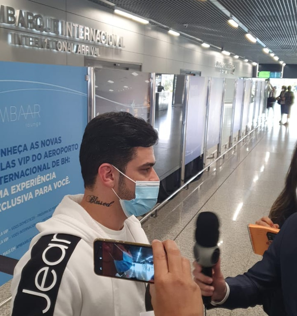 Pedro é um dos deportados brasileiros — Foto: Fabiana Almeida/TV Globo