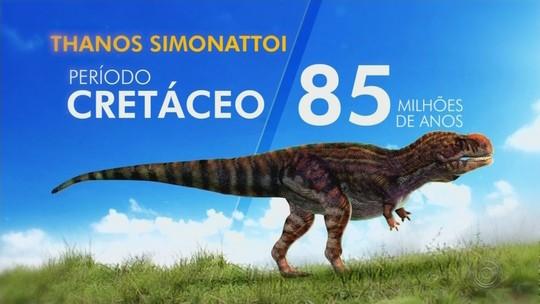 Agricultor fala sobre homenagem em nome de dinossauro descoberto no interior de SP: 'Ele é da família'