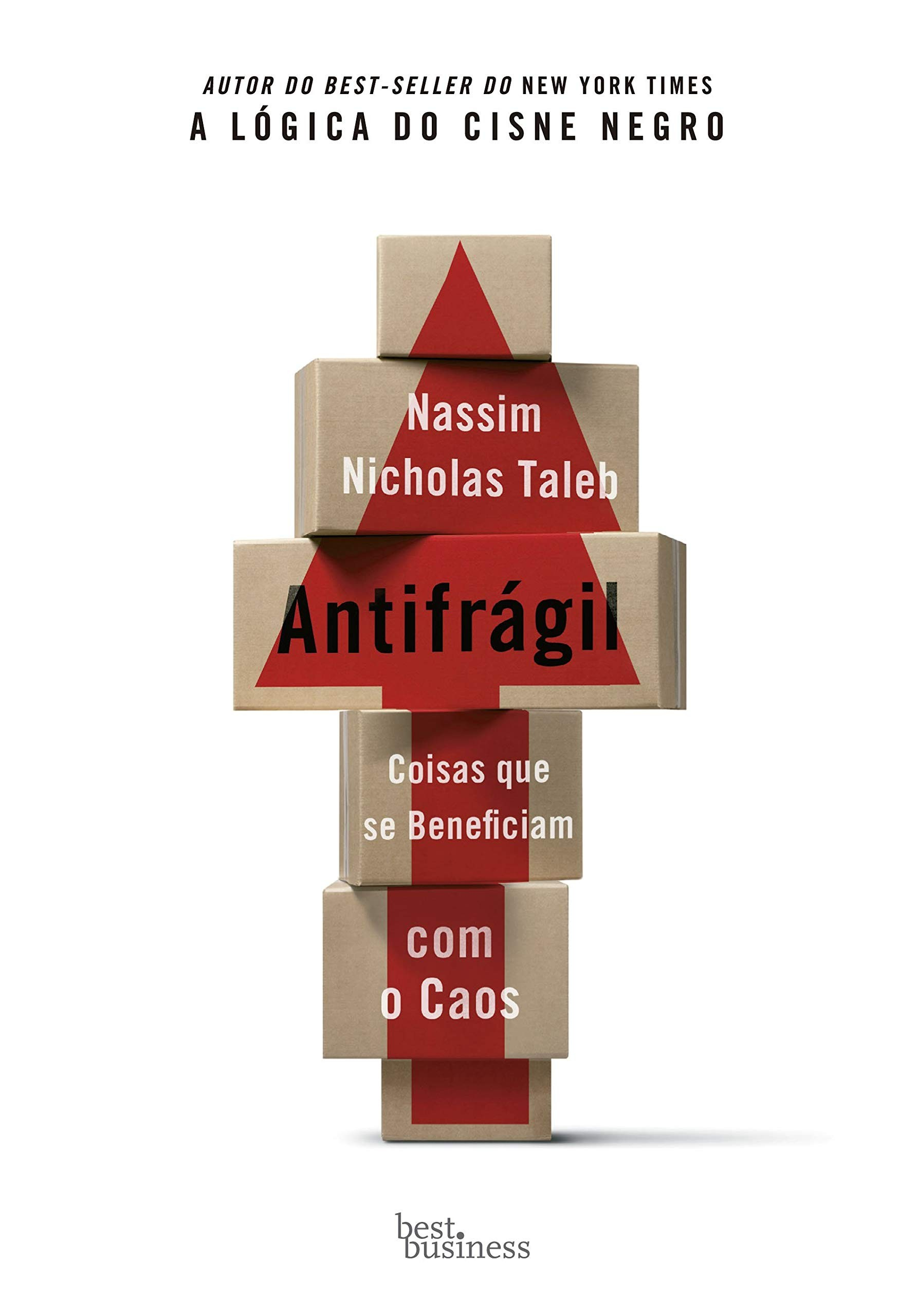 Antifrágil por Nassim Nicholas Taleb (Foto: Divulgação)