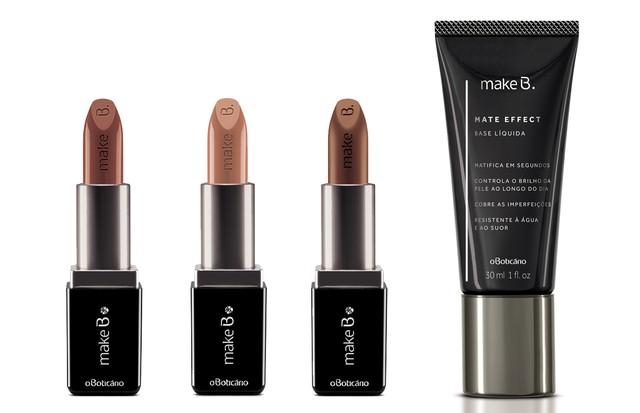 Novos produtos da linha Make B. de O Boticário  (Foto: Divulgação)