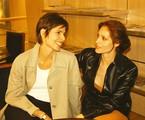 Leila (Silvia Pfeifer) e Rafaela (Christiane Torloni) | Divulgação/TV Globo