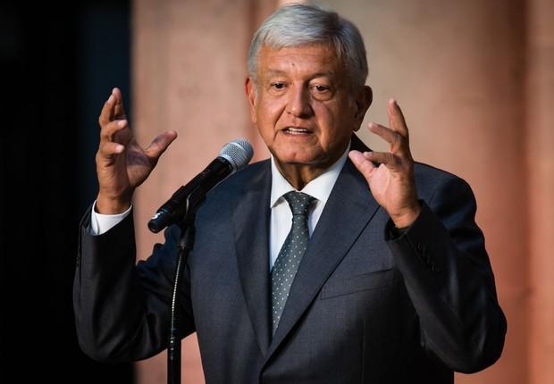 Andres Manuel Lopez Obrador, presidente eleito do México (Foto: Manuel Velasquez/Getty Images)