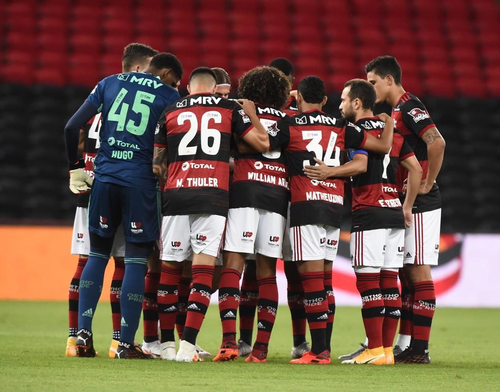 Flamengo avançou às quartas de final da Copa do Brasil — Foto: André Durão