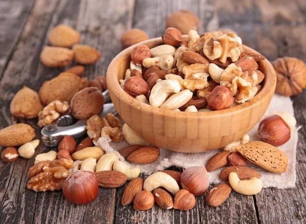 Conheça os benefícios das castanhas