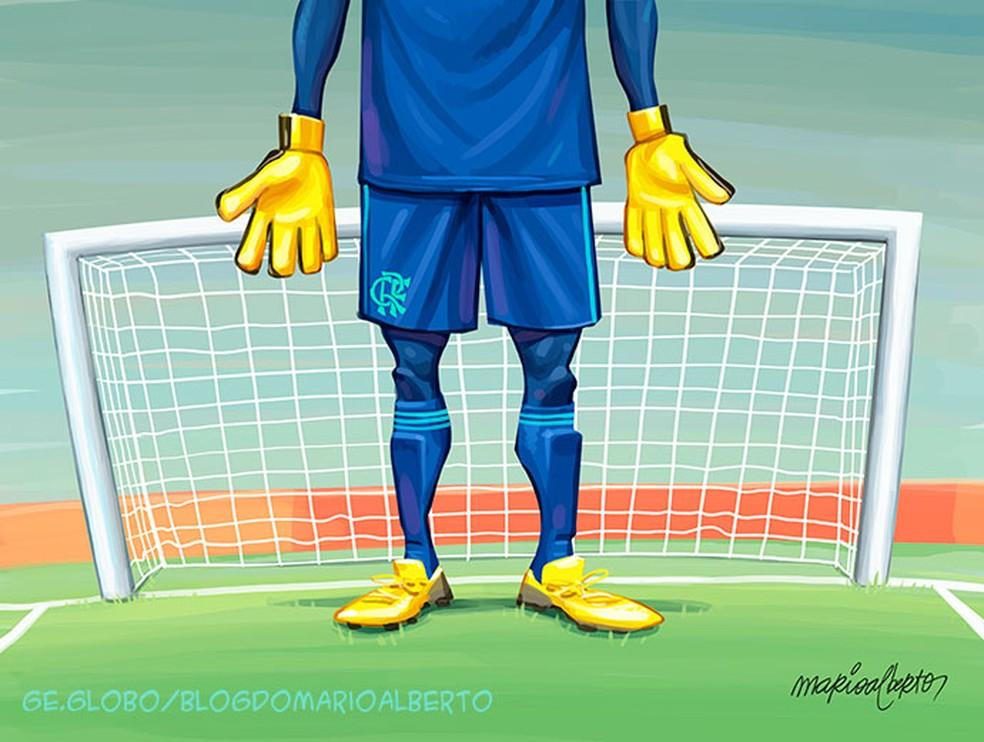 29/9/2020 - 12ª RODADA - Palmeiras 1x1 Flamengo — Foto: Mario Alberto