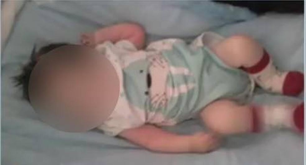 Bebê de cinco meses morreu à espera de vaga em UTI — Foto: TVCA/Reprodução