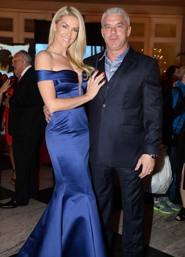 Ana Hickmann e o marido, Alexandre Correa (Foto: Francisco Cepeda/AgNews)