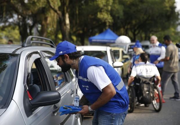 Detran - trânsito - fiscalização (Foto: Tomaz Silva/Agência Brasil)