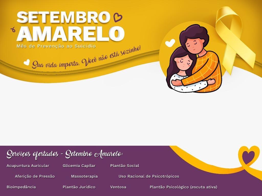 Centro de compras oferece serviços gratuitos durante o 'Setembro Amarelo' em Caruaru