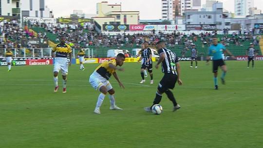 Figueirense 2 x 2 Criciúma: assista aos melhores momentos do jogo