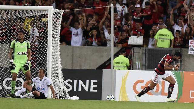 Gol Flamengo x América-MG Henrique Dourado - Campeonato Brasileiro 2018