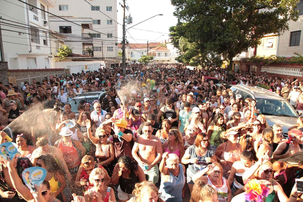 Santos lança programação dos desfiles do Carnabanda 2020 — Foto: Divulgação/Prefeitura de Santos