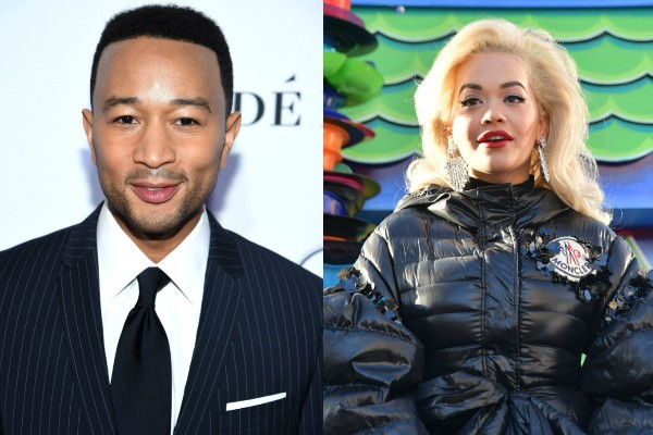 John Legend e Rita Ora (Foto: Getty Images)