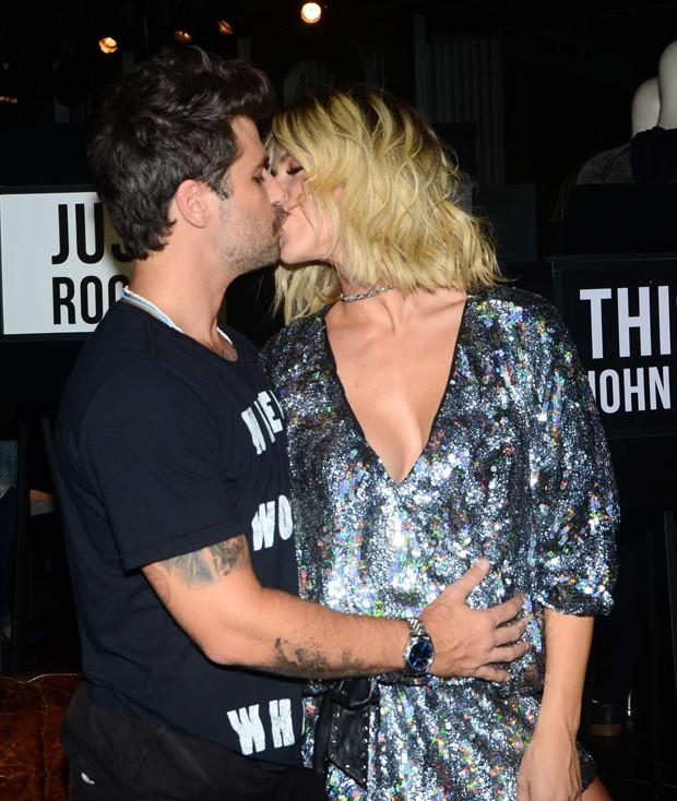 Giovanna Ewbank e Bruno Gagliasso (Foto: Eduardo Martins/AgNews)