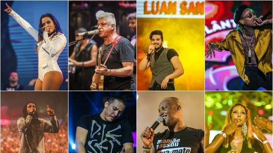 Do rap ao sertanejo, assista na íntegra aos principais shows do Planeta Atlântida 2016