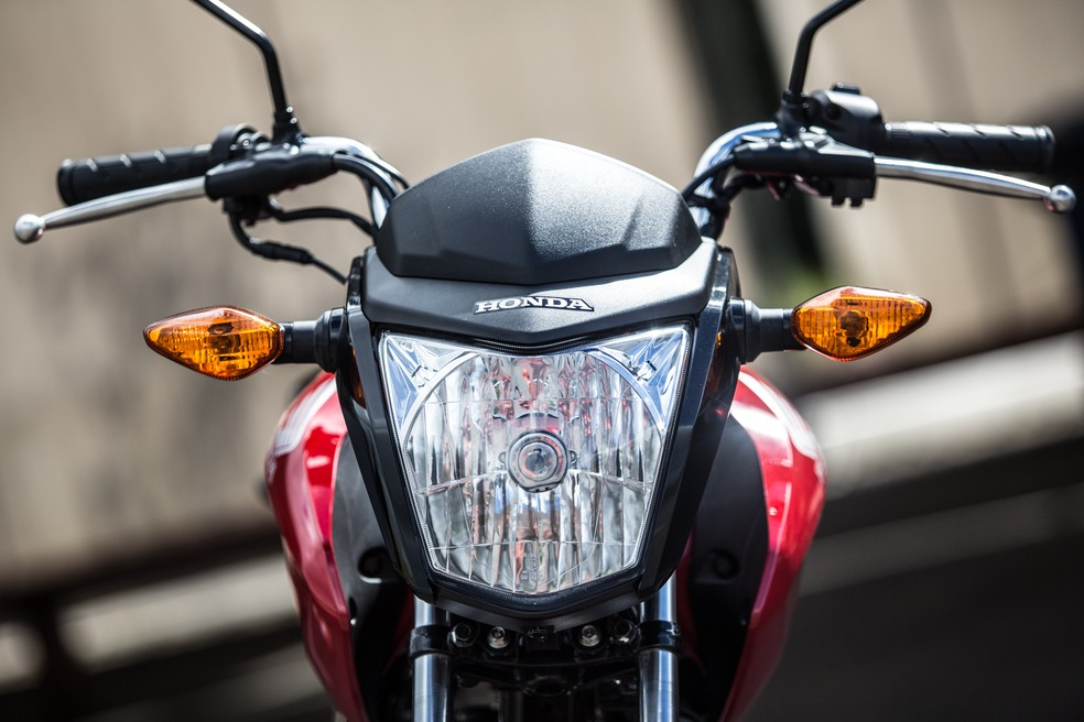 Honda CG 125  — Foto: Raul Zito/G1