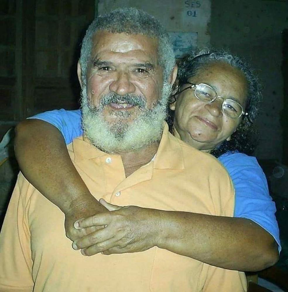 Jedemir Andrade é casado com Maria Eunice da Silva  — Foto: Jerônimo Andrade/Acervo pessoal
