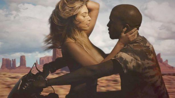 Kim e Kanye (Foto: Divulgação)
