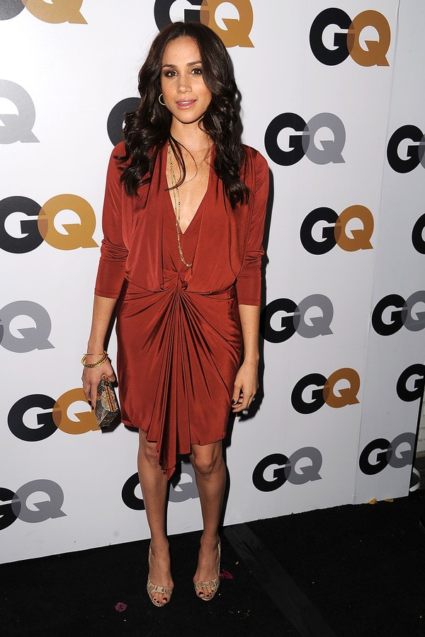 LOS ANGELES, CA - NOVEMBER 13:  Meghan Markle arrives at the GQ Men Of The Year Party at Chateau Marmont on November 13, 2012 in Los Angeles, California.  (Photo by Steve Granitz/WireImage) (Foto: WireImage)