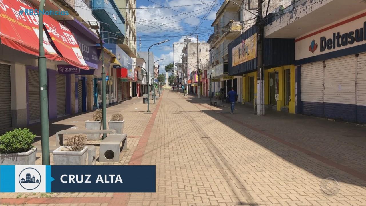 Cruz Alta tem 85% dos leitos de UTIs Covid ocupados