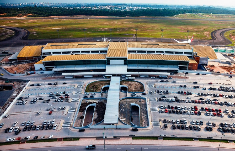 El aeropuerto internacional Eduardo Gomes, en Manaos, tendrá interferencias en la pista hasta diciembre (Foto: Divulgación / Infraero)
