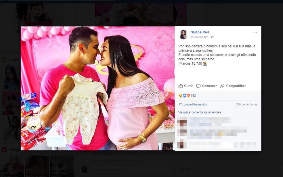 Homem confessou ter matado jovem grávida antes do parto (Foto: Reprodução/ Facebook)