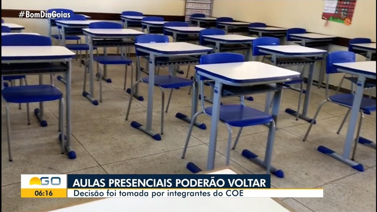 COE decide que aulas nas redes públicas e privadas podem ser retomadas em Goiânia