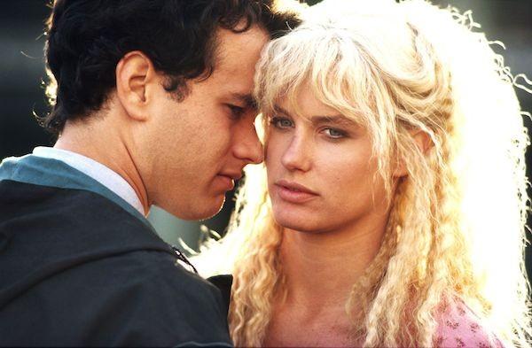 Tom Hanks e Daryl Hannah em cena de 'Splash: Uma Sereia em Minha Vida' (1984) (Foto: Reprodução)