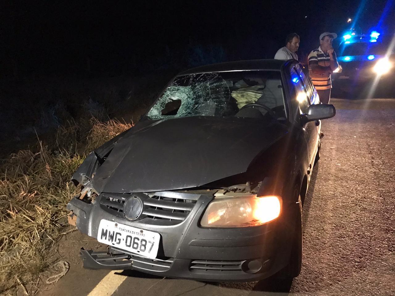 Polícia tenta identificar idoso que morreu atropelado em rodovia de MT