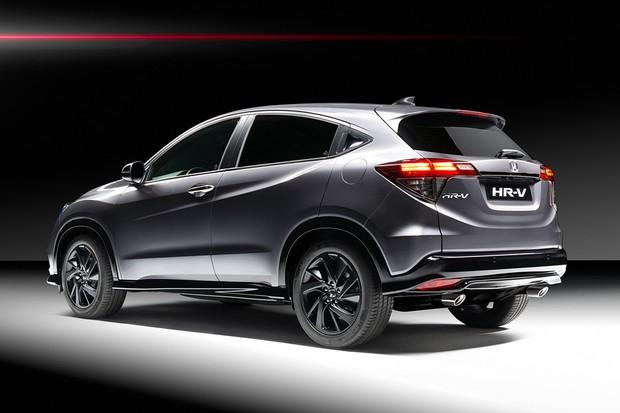 Honda HR-V Sport 2019 europeu (Foto: Divulgação)