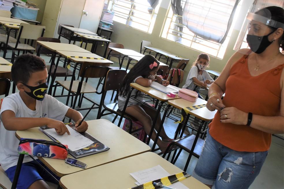 Decreto regulamentou volta das aulas presenciais em Agudos — Foto: Roberto Netto/Prefeitura de Agudos