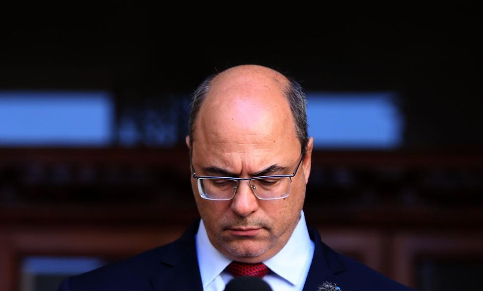 Foto de arquivo de 28/08/2020 do governador afastado do Rio, Wilson Witzel. — Foto: WILTON JUNIOR/ESTADÃO CONTEÚDO