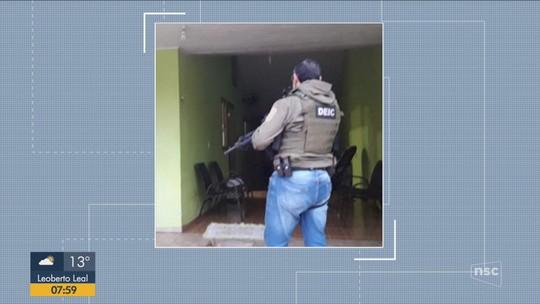 Polícia Civil prende suspeitos em operação contra roubo de cargas em SC