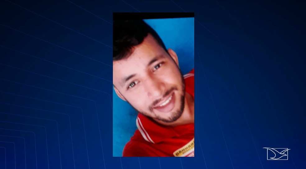 Dean Wilian Costa Nogueira, de 25 anos, foi preso e autuado em flagrante na noite de sábado (29) no bairro Cidade Operária — Foto: Reprodução/ TV Mirante