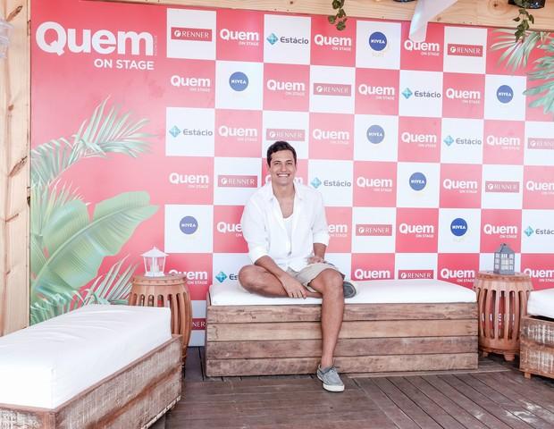 Raphael Vianna no QUEM On Stage (Foto: Renato Wrobel/Editora Globo)