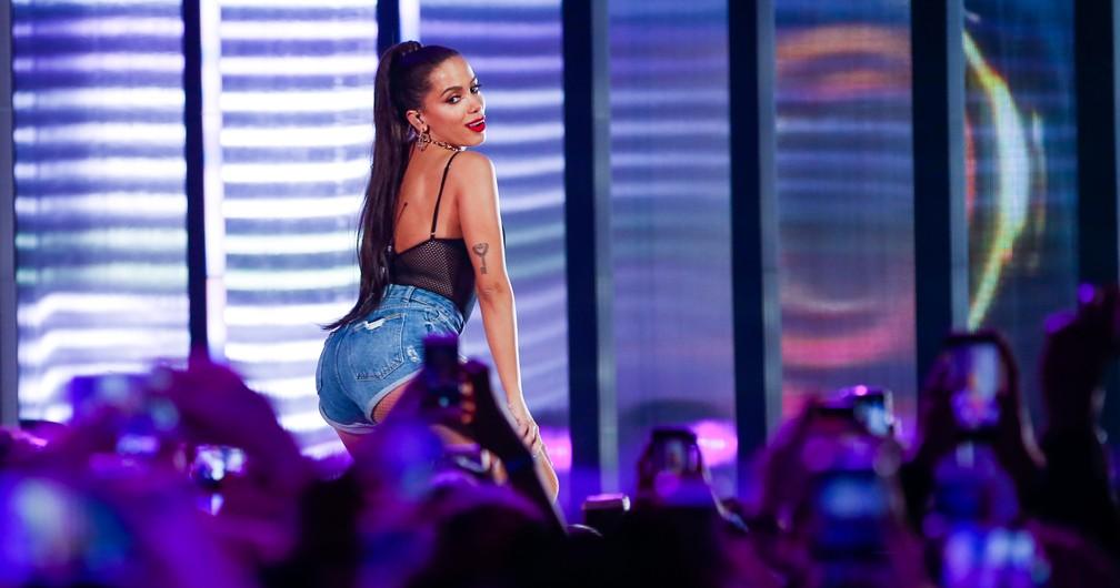 Anitta no palco do MTV Miaw (Foto: Alexandre Schneider/Divulgação)
