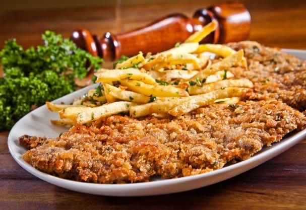 milanesa com batata (Foto: Divulgação)