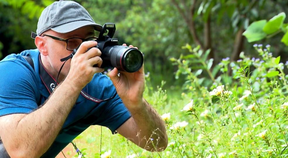 Registrando as belezas de Campinas (SP), fotógrafo argentino aprendeu a conhecer a natureza do Brasil — Foto: Terra da Gente