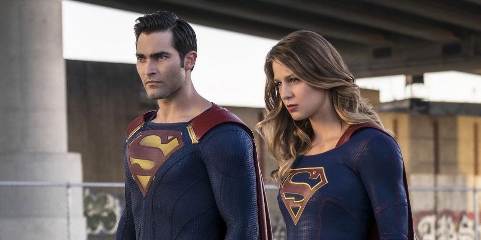 Superman e Supergirl em cena (Foto: Divulgação)