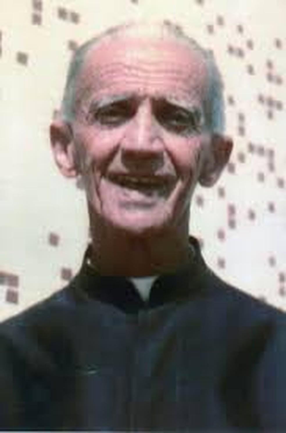 Irmão Roberto Giovanni — Foto: Arquidiocese/Divulgação