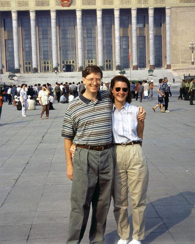 Bill e Melinda Gates (Foto: Reprodução/Instagram)