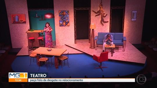 Peça 'Intimidade Indecente' mostra convívio de casal de mais de 30 anos em Belo Horizonte