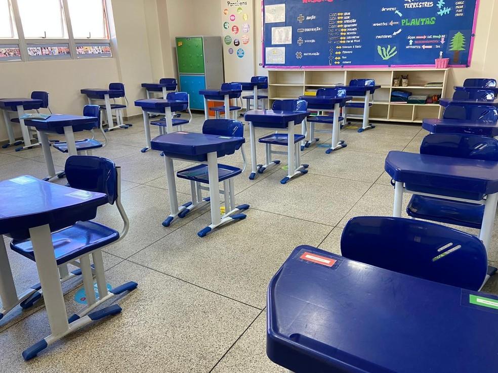 Escola particular do Distrito Federal, em imagem de arquivo — Foto: Arvense/Divulgação