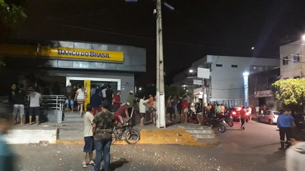 Moradores se dizem assutados com a violência no município (Foto: Reprodução/TV Verdes Mares)
