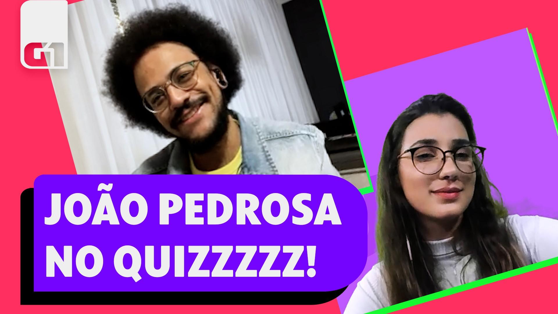 Ex-BBB João Pedrosa no 'Quiz dos famosos'. Será que ele foi bem?