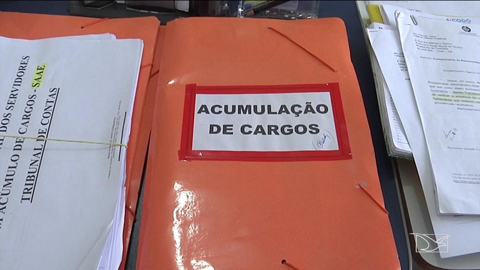 Constatação foi feita após o cruzamento de dados de folhas de pagamento de municípios maranhenses. — Foto: Reprodução/TV Mirante