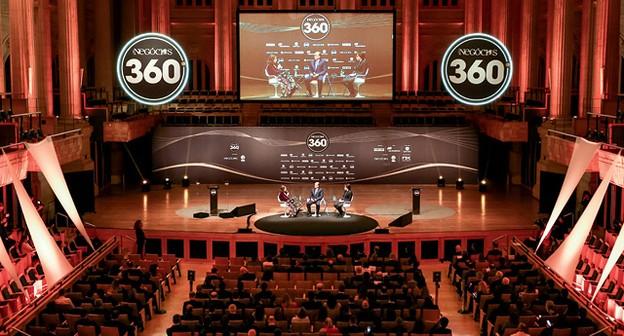 Os troféus foram criados pelo designer Ronald Sasson para o 360º; Orfeu foi o café oficial da festa na Sala São Paulo