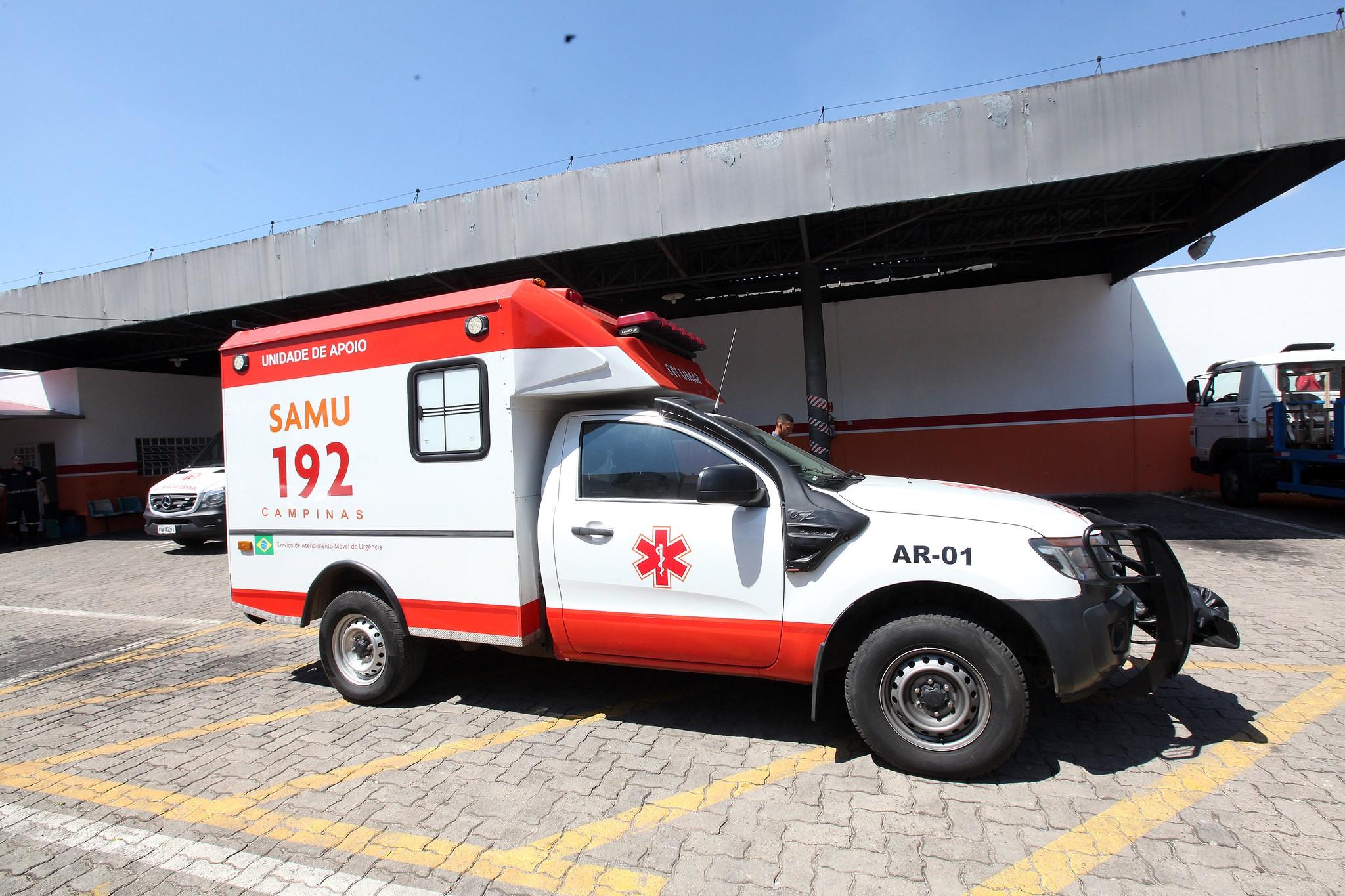 Samu em Campinas registra três funcionários diagnosticados com novo coronavírus, diz prefeitura