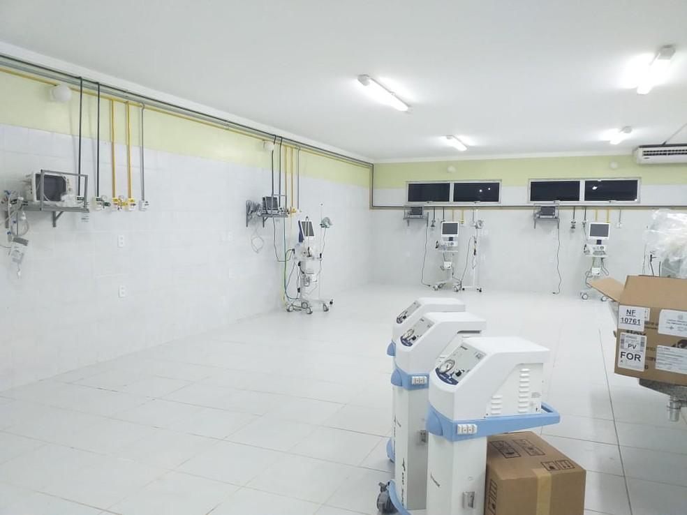 Dez leitos de UTIs serão instalados no prédio da Policlínica em Bom Jesus — Foto: Aparecida Santana/TV Clube
